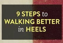 How To Walk In High Heels / How to not be a wobbly baby giraffe in high heels
