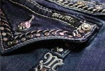 Back Pocket Bling / Close-up shots of the hottest women's jean styles found at Drysdales.com.  Embroidered, metal and rhinestone-studded back pockets to inspire #denimenvy.  In no particular order, we will feature detail shots of the best part of jeans from brands like Miss Me, Wrangler, Aura, Booty Up, Cowgirl Tuff and more! Click the picture to see more about each design. #DenimFashion #DenimBling Women's clothing fashion jeans