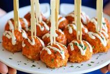 for the game / Tailgating, game day snacks