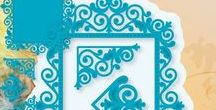 Joy Crafts - 6002/0356, 6002/0357 - Рамка, уголки, бордюр