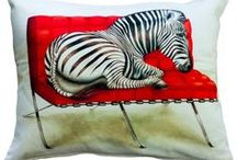 Whimsical Collection / Wildlife at Leisure is our new collection of whimsical animal printed designs on pillows, beach bags, totes and cosmetic bags. We pride ourselves in carrying South African influenced designs online and hope you enjoy this new, delightful collection as much as we do.