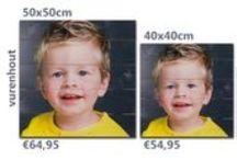 Foto op hout prijzen en formaten | Photo on wood prices and sizes