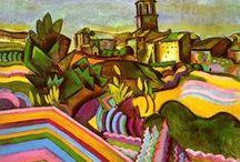 ART - Modern Masters / Botero, Cézanne, Dali, Gauguin, van Goh, Kandinsky, Kahlo, de Kooning, Klee, Klimt, Lam, Matisse, Miro, Monet, O'Keefe, Picasso, Pollock, Renoir, Rivera, Rousseau, Toulouse-Lautrec / by J.P. Lane