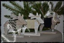 """Noël Home Made / Créations artisanales """"La maison réinventée"""""""