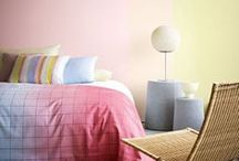 Love pastels / Decorating schemes in inspired pastel shades.