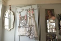 { Hanging Beauty } / ~ Closets I adore. Beautiful clothing like works of art ~ / by Amy Stengel Esparza