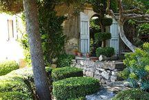 Garden, terrace, flower, porch