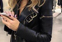 LEATHER jacket ****