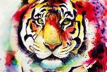 Animals / Animals painting series