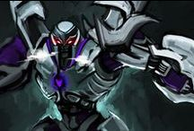 Transformers Fanart / Transformers comics , animation , movie  and MEGATRON fanart