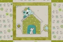 Josie & Theo collection designed by STOF fabrics / Ask for STOF fabrics at your local quilt shops and fabric retailers.