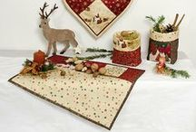 Christmas 2014 collection designed by Stoffabrics / Ask for Stoffabrics at your local quilt shops and fabric retailers.