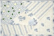 Rosie's Journey collection by Stoffabrics / Ask for Stoffabrics at your local quilt shops and fabric retailers.