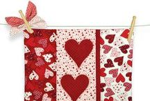 Love, Hearts and Memory collection designed by Stoffabrics / Ask for Stoffabrics at your local quilt shops and fabric retailers.