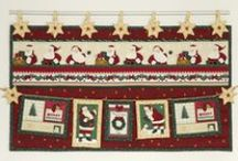 Papa Noel / Christmas 2015 collection designed by STOF fabrics / Time to think about Christmas Fabrics in your store!