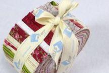 Pre-Cut STOF Pops by STOF Fabrics / 36- 40 pcs (ca 6.50cm x 110cm) 100% Cotton