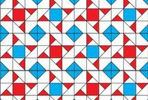 Free quilt block patterns / Quilt Pattern ideas.