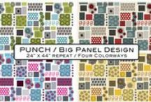Punch Collection designed by STOF fabrics / 2015 spring released Collection. Ask for STOF fabrics at your local quilt shops and fabric retailers