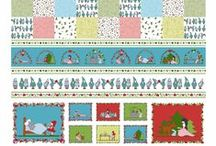 Fairy Tale Collection designed by STOF fabrics / Ask for STOF fabrics at your local quilt shops and fabric retailers