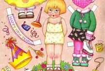 Paper Dolls Ann Estelle etc.