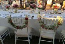 Γάμος / Στολισμός γάμων από το ανθοπωλείο Les Fleuristes. Wedding & flower decorations by Les Fleuristes florists.
