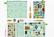 Slow Travel collection by STOF fabrics / Ask for STOF fabrics at your local quilt shop