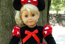 Dolls: American Girl / Dukkeklær til American Girl 18 inch