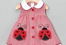 Kjoler til små piker