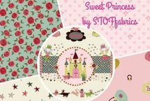 ''Sweet Princess'' collection by STOF fabrics / Beautiful and cute collection Sweet Princess