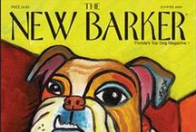The New Barker Covers / Every cover of The New Barker features the original artwork of a different Florida artist. #art #artwork #thenewbarker #dogart