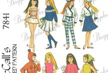 Barbie - Skipper Sewing Patterns