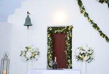 Καλοκαιρινός Γάμος - Γάμος σε νησί / Διακόσμηση & ανθοστολισμός καλοκαιρινών γάμων
