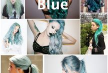 Hair color (Blues)