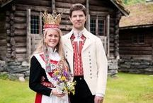 Norge - Norway / Nordmenn, norske folkedrakter, kunstnere, troll og husflid, mat og drikke med mer...