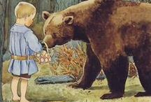 Elsa Beskow / Elsa Beskow (født 11. februar 1874, død 30. juni 1953) var en svensk forfatter og billedkunstner som er særlig kjent for en rekke barnebøker med senromantiske illustrasjoner. Kilde: Wikipedia