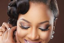 African Brides makeup / African brides makeup and hairstyles