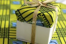 African favors / African favor bags