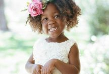 African flower girl and page boy / Flower girl and ring bearer