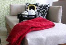 Dukkemøbler / Møbler til vanlige dukker (ikke miniatyrdukkehus)
