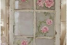 Shabby Chic / Rustic Chic style