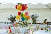 Garden Party / Ideas and inspirations for styling a Summer Garden party with a relaxed vintage and boho vibe