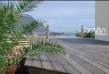 Terrasse bois Tootan / Profitez enfin du dehors en créant un espace de vie et de détente, avec nos terrasses de grande longévité et sans entretien ( pin traité classe 4, robinier, bambou, massaranduba, cumaru....)