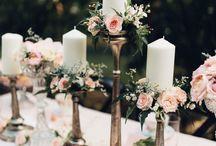 Candle holders Candlestick Candelabra / Wedding candle centerpieces