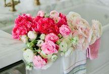 L'énergie des roses - Roses Energy / (styles country chic, romantic, manor, charm, gustavian, victorian - campagne cottage chic, romantique, manoir, charme, château, victorien, gustavien)