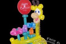 Stretch & Company Balloon Art - Twist-O-Loons / Why not be different and send a one-of-a-kind gift that is not only unique, but custom made just for them? Balloon deliveries are special balloon sculptures that can be delivered in person if you live in or near the Dallas - Fort Worth area of Texas, or they can be shipped anywhere in the continental US. A balloon delivery from Stretch the Balloon Dude can be a simple bouquet of flowers or a life sized balloon caricature of the recipient if it's being delivered in person. http://www.stretchc.com