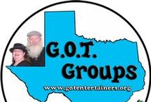 Stretch & Company Presents - G.O.T. Groups / G.O.T. (Gathering Of Twisters) Groups are different groups about balloon & face painting workshops. These workshops are either local, on the road, or on a cruise. For more information visit our website: http://www.gotentertainers.org