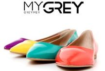 MyGrey #shoes #greymer / The expansion of the brand especially in emerging markets and the growth of the Italian market, have led to an expansion of production with a line called MY GREY, young and dynamic collection, which combines the flagship line.