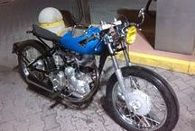 Blue Horizon special cafèracer / Special based on royal enfield bullet 350 1972