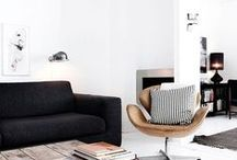 """Interior Inspiration: """" City chic"""" / Neutral colors that give your house a calm vibe, with a touch of glamour."""