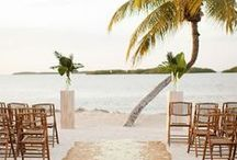 Wedding: Beach wedding / Every girls dream about an amazing wedding. I am planning on getting married may -16. Here some ideas for my romantic, beach wedding.